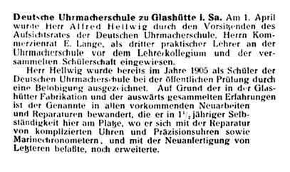 Leipziger Uhrmacherzeitung Nr.8 v. 15. April 1913 S.128