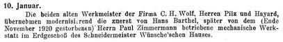 """Quelle: """"Saxonia"""" Nr.20/21 vom Mai 1921 S. 45"""