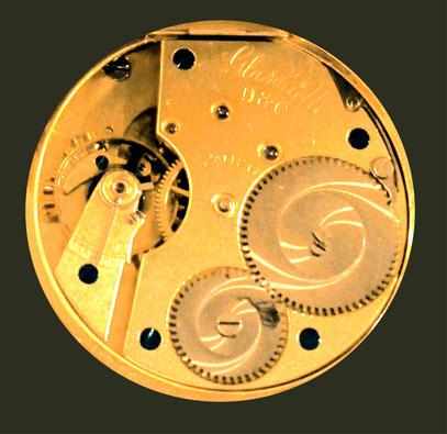 Das hier gezeigte Werk hat die Nummer 12030 Quelle: Deutsches Uhrenmuseum Glashütte