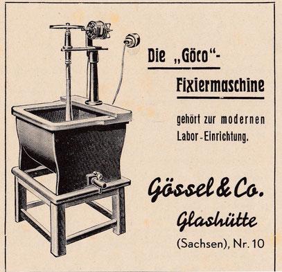 Werbeanzeige 1938