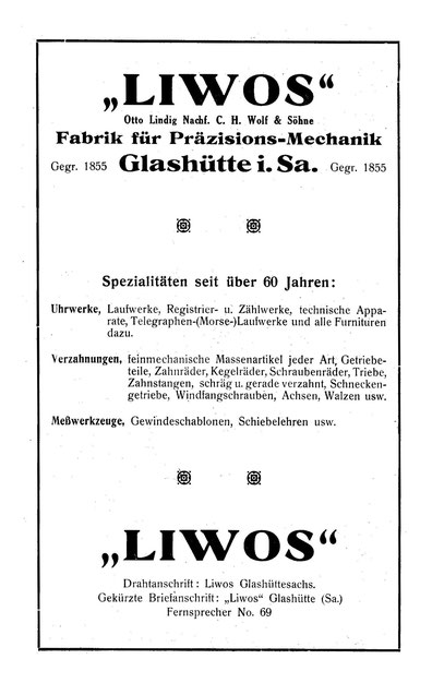 """Saxonia"" Nr.24 Anzeige 1925"