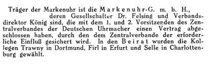Quelle: Deutsche Uhrmacher-Zeitung Nr.08 vom 21.Febr.1925 S.152