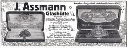 Werbeanzeige in der Illustrierten Zeitung vom 14. Dezember 1911