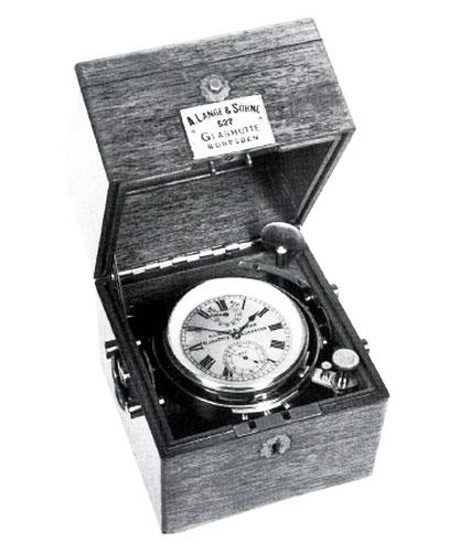 Kleines ALS Marine-Chronometer Nr. 527 [1]