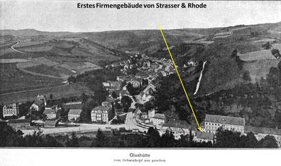 Fabrikationsstätte vor 1899