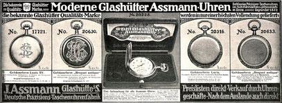 Zeitugswerbung 1913