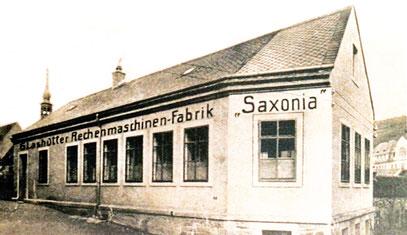 """Rechenmaschinen-Fabrik """"Saxonia"""" 1902"""