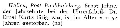 Quelle : Neue Uhrmacher-Zeitung Nr. 18 vom 30. Sept. 1956 S. 32