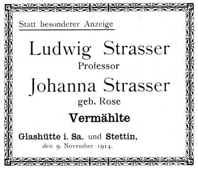 Quelle: Allgemeines Journal der Uhrmacherkunst Nr.22 vom 15. Nov. 1914 Anzeigeteil