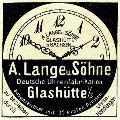 ALS Werbung 1908
