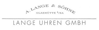 Das Logo der Firma mit ihrer Uhrenmarke