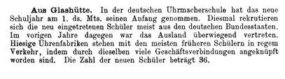 Quelle: Handelszeitung für die Gesamte Uhrenindustrie Nr.10 vom 15. Mai 1895 S.174