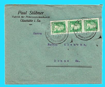 Firmenkorrespondenz von 1928