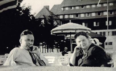 Dr. Ernst Kurtz in den 1930er Jahren