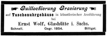 Quelle Handels-Zeitung für die Gesamte Uhren-Industrie Nr.01 vom 01.01.1897 S.31