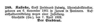Quelle: Müglitztal-Nachrichten vom07. April 1922