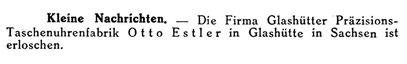 Quelle: Deutsche Uhrmacher-Zeitung Nr.3 v. 17. Jan. 1925 S. 54