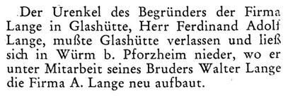 Quelle: Die Uhr Nr.22 von 1952 S.41