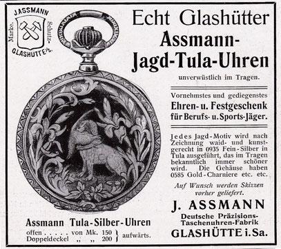 Werbeanzeige von 1908