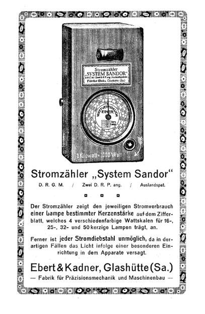 """Quelle: """"Saxonia"""" Bericht für die Alten Herren der Schülervereinigung """"Saxonia"""" an der Deutschen Uhrmacherschule zu Glashütte Heft Nr.26 vom Juni 1924"""
