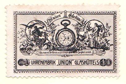 Union Reklamemarke um 1905