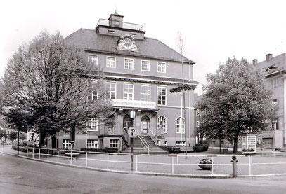 Die ehemalige Deutsche Uhrmacherschule als Ingenieurschule für Feinwerktechnik 1981