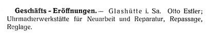 Quelle: Deutsche Uhrmacher-Zeitung Nr.10 vom 15. Mai 1907 S.165