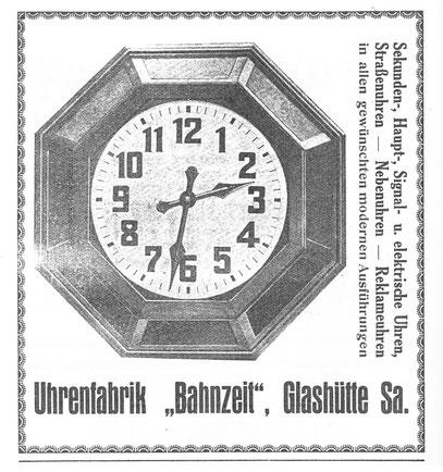 Quelle: Saxonia Bericht Nr. 33 vom Dez. 1927
