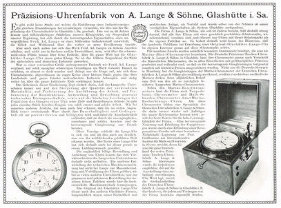 Firmenwerbung 1913