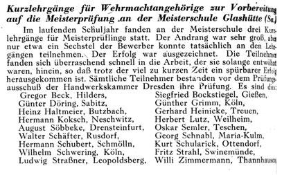Quelle: Uhrmacherkunst Nr.06 vom 19. März 1943 S. 70