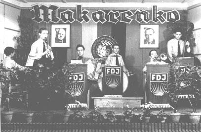 Die Kapelle des Ausbildungswerkes 1950