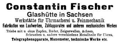 Quelle: Handelszeitung für die Gesamte Uhrenindustrie Nr.12 vom 15. Juni 1898 S.19