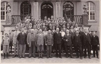 DUS-Lehrer und Schüler des Jahrgangs 1928/29