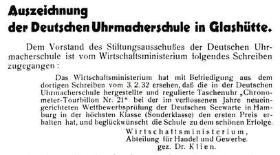 """Quelle: A.H.-Veband Saxonia; Bericht für die Alten Herren der S.-V. """"Saxonia""""  1932 Nr. 43 S. 11"""