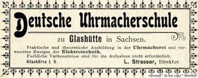 Werbeanzeige 1907