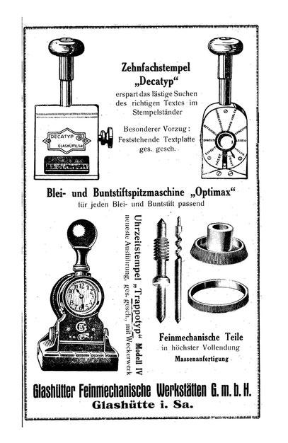 Quelle: Saxonia Heft 24/ Juni 1923