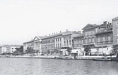 Das Marine-Stabsgebäude in Pola [2]