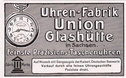 Werbeanzeige 1911