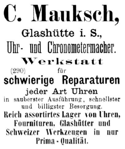 1. Beilage zum Allgemeinen Journal der Uhrmacherkunst Nr. 09 vom01. Mai 1891