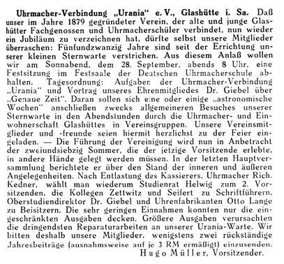 Quelle: Deutsche Uhrmacher-Zeitung Nr.39 vom 21. Sept. 1935 S.503
