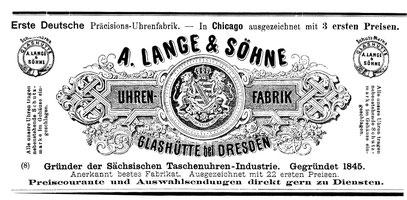 1.Beilage zum Allgemeinen Journal der Uhrmacherkunst Nr.6 v. 15. März 1895