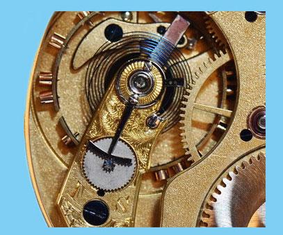 Patent-Rucker; (Die sogenannte Rechen-Feinregulierung)