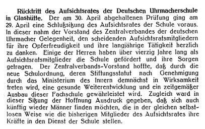 Quelle: Deutsche Uhrmacher-Zeitung Nr. 23 vom 05. Juni 1919 S. 191