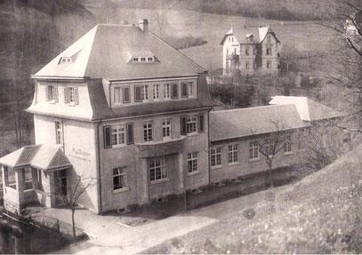 Aufname von 1912/13 /Wohnhaus und Firmengebäude von Paul Stübner
