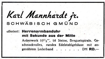 Neue Uhrmacher Zeitung 1949 Nr.4 S.106