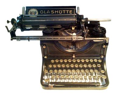 """[3] Die Glashütter Schreibmaschine """"Usapax-Visityp Modell 1921"""""""