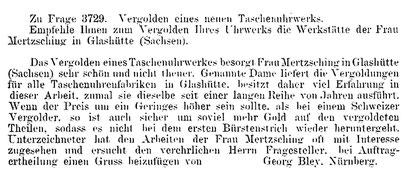 Quelle: Deutsche Uhrmacher-Zeitung Nr. 20 vom 15. Okt. 1895 S. 238