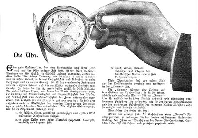 """Werbeanzeige von 1908 aus der Zeitschrift """"Jugend"""""""