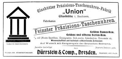 Werbung 1902
