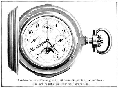 Quelle: Die Uhrmacherwoche Nr. 32 vom 01.08.1924, S. VII